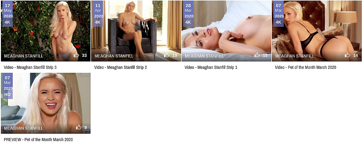 Meaghan Stanfill Penthouse videos