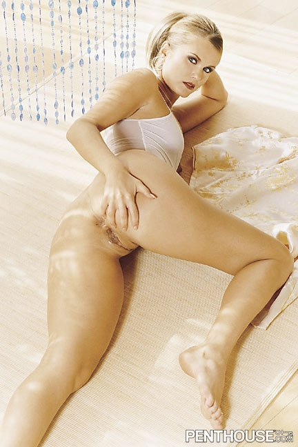 Victoria Bonne nude in her May 2003 Penthouse Pet Of The Month photo spread 005