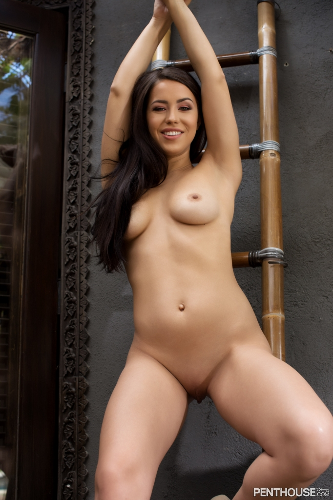 Alina Lopez nude in her December 2018 Penthouse Pet Of The Month photo spread 006