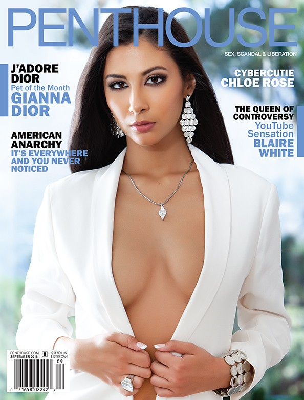 Gianna Dior on the cover of Penthouse Magazine