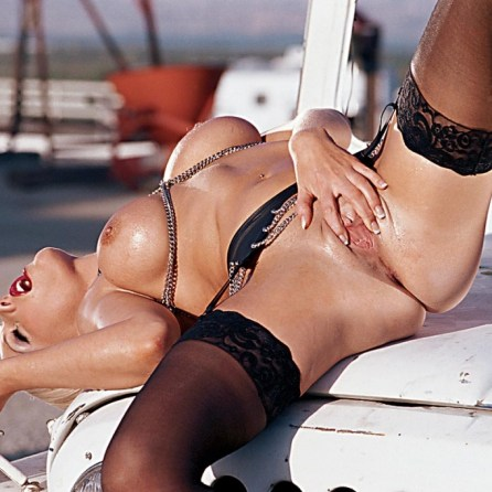 Montana Bay nude in her August 2004 Penthouse Pet Of The Month photo spread 006