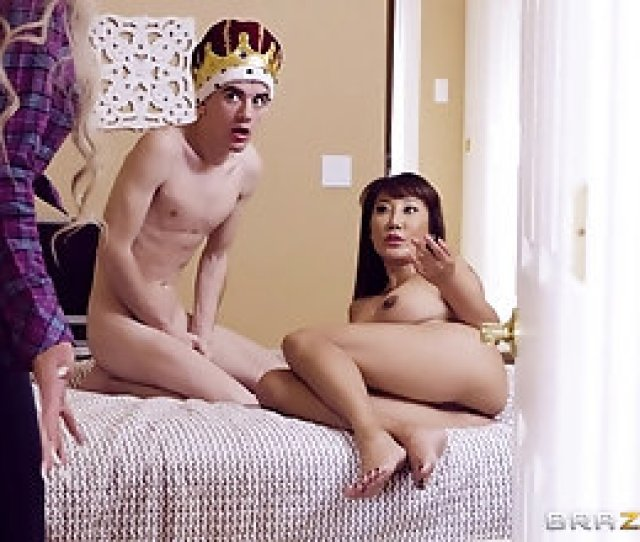 Birthday Boy Gets To Fuck A Stunning Asian Mature Slut