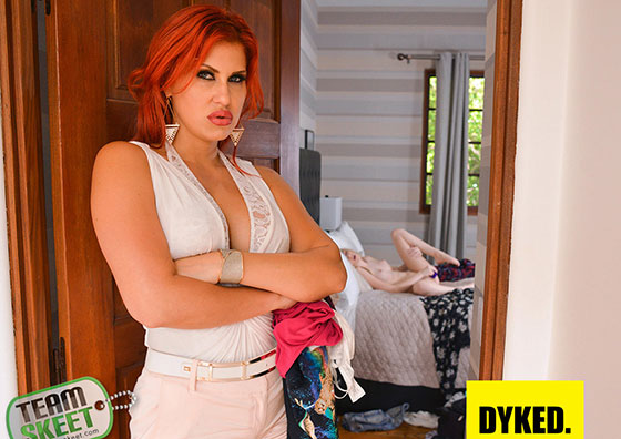 Ivy Jones, Savana Styles (Sexy Scoundrel Gets Straightened Out / 07.07.2017)
