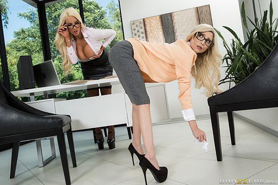 Nicolette Shea, Piper Perri (Showing Her Who's Boss / 07.10.2017)