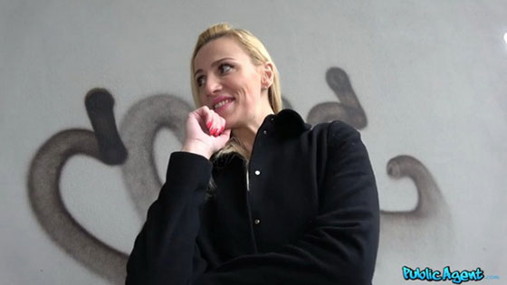 Afina Kisser (Stairwell Orgasms For Russian Blonde / 05.13.2017)