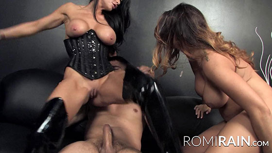 RomiRain, Alison Tyler (Threes A Party With Alison Tyler / 06.12.2017)