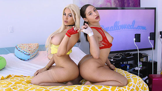 Abella Danger, Luna Star (Double Dipping With Abella And Luna / 08.21.2017)