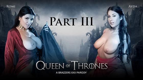 Ayda Swinger, Romi Rain (Queen Of Thrones: Part 3 (A XXX Parody) / 08.13.2017)