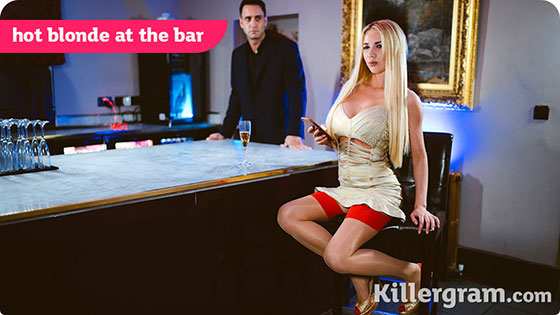 Lucy Sky (Hot Blonde At The Bar / 02.04.2018)