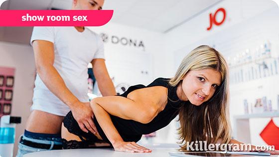 Gina Gerson (Show Room Sex / 03.04.2018)