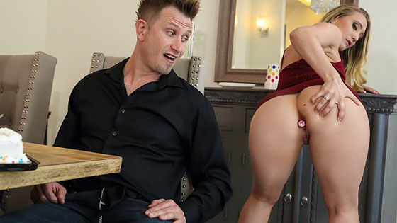Anal Surprise Party with AJ Applegate