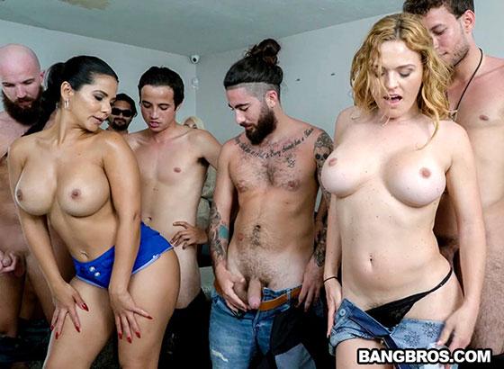 Porn Casting Surprise! with Rose Monroe, Krissy Lynn, Valentina Jewels