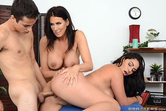 Stepmother Stepson Bonding with Cristal Caraballo, Reagan Foxx