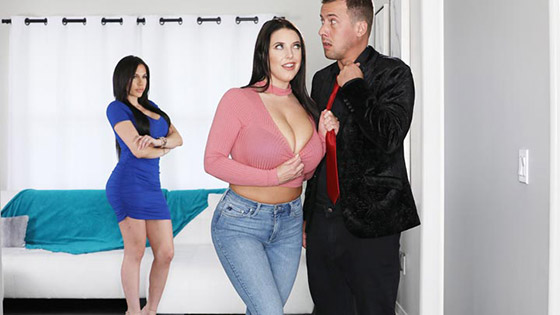 Blackmailed By Big Boob Cheater Angela with Angela White