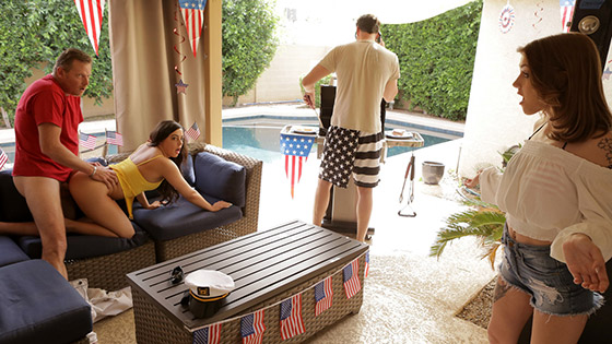 Fourth Of July Family Fuck with Rosalyn Sphinx, Whitney Wright