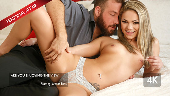 Young Hottie Athena Fucks The Boss with Athena Faris