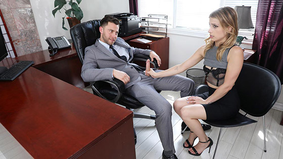 Sexy Secretary Blackmailed with Kristen Scott