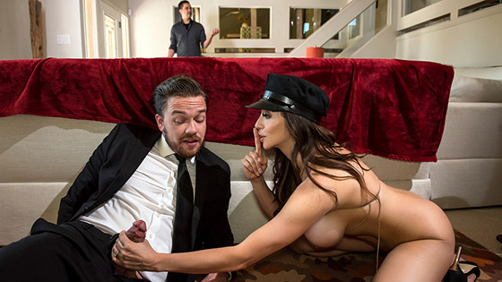Lick My Limo with Ariella Ferrera