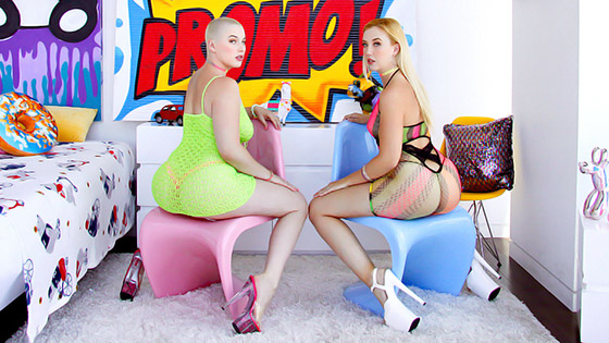 All About The Gapes with Samantha Rone, Riley Nixon