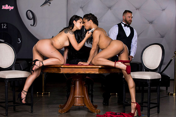 All In with Gina Valentina, Kira Noir