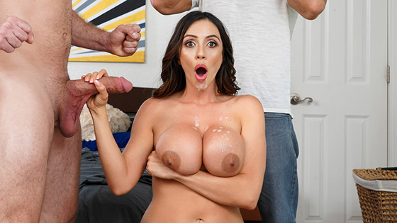 Panty Stash with Ariella Ferrera