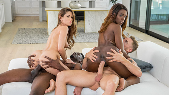 A Long Time Coming with Ana Foxxx, Little Caprice