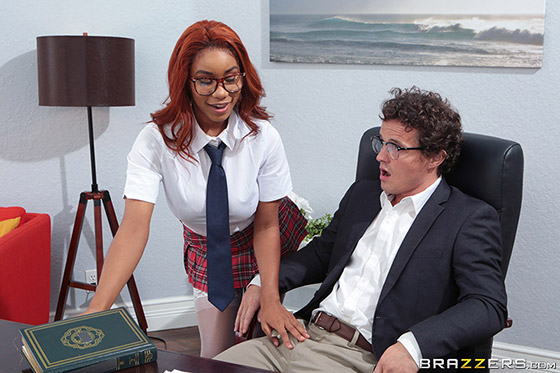 Banging The Bookworm with Jenna Foxx