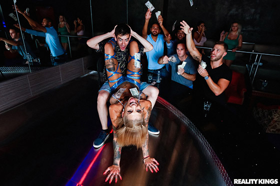 Rotten Experience At The Strip Club with Bonnie Rotten