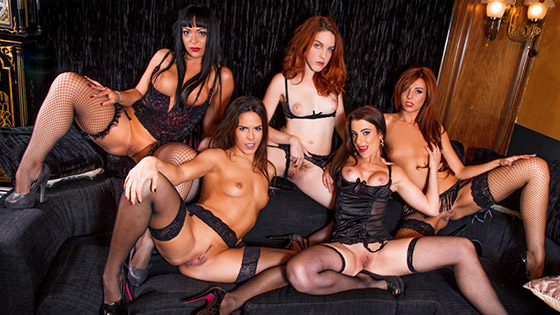 Amarna Miller's girls gone wild with Amarna Miller, Bianca Resa, Gala Brown, Yarisa Duran