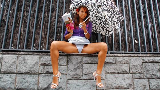 Naughty schoolgirl with Jade Kitti
