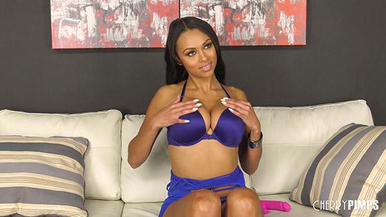 Banging Hot Ebony Babe Bethany Benz with Bethany Benz