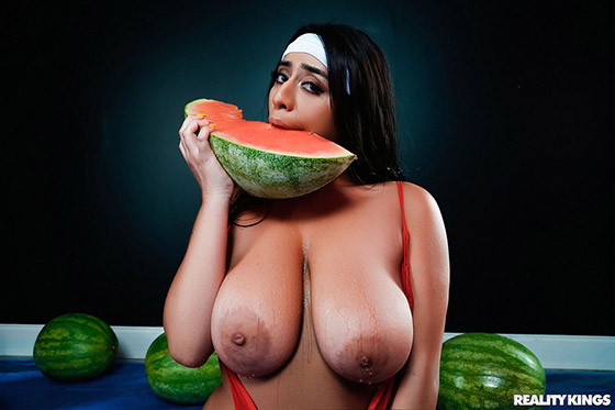 Wetter Melons with Violet Myers