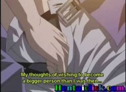 Fazendo me namorado gozar. Hentai gay.