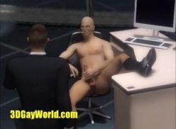 Porno gay hentai na academia.