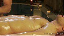 Gay gozando hora da masagem