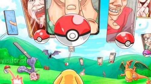 Síentete un pokemon y mira como nos ven al cazarlos