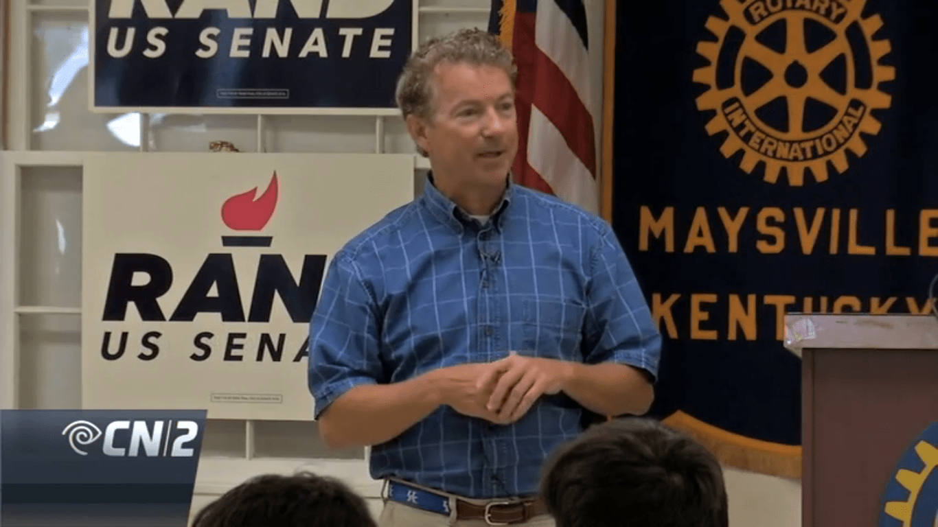 RAND PAUL: Clinton Should be in Jail, Vote Trump [VIDEO]