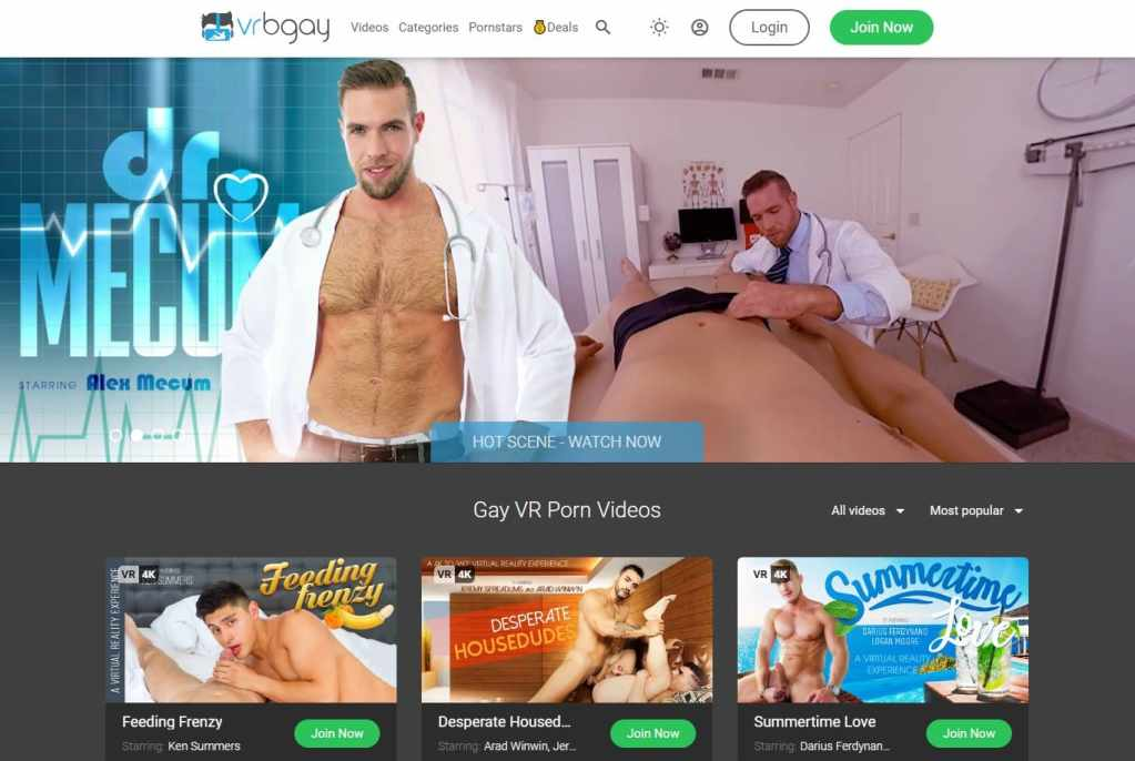 Vrbgay - Best Gay Vr Porn Sites