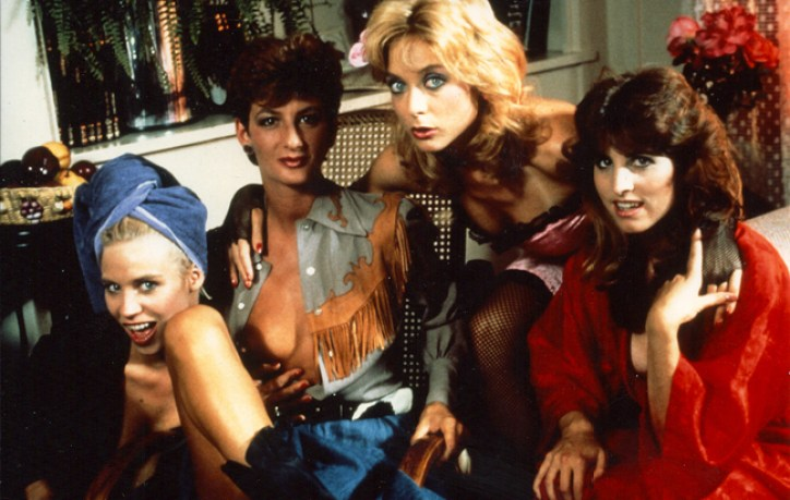 Patti Petite, Sharon Mitchell, Nina Hartley, Shanna McCullough