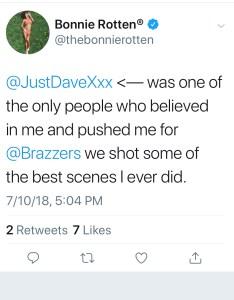 Superstar Bonnie Rotten Expresses Doubt Over Leigh Ravens Rape Claims