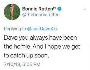 Superstar Bonnie Rotten Expresses Doubt Over Leigh Ravens Rape Claims