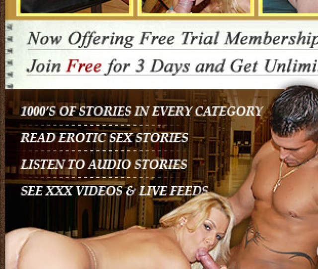 Free Porn Stories Trial Membership