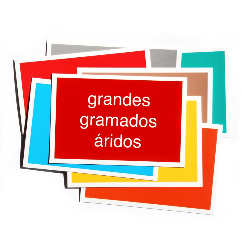 Cartão Postal - Brasília - Grandes gramados áridos