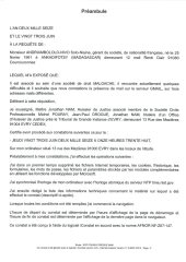 Constat dhuissier effectué selon les règles de lart Page2 1 - Les emails présentés ont été authentifiés par un huissier selon les règles de l'art