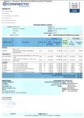 RANARISON Tsilavo ont signé les bons de commande de EMERGENT pour WESTCON Africa Page1 - Les bons de commande des produits CISCO achetés chez WESTCON COMSTOR par EMERGENT NETWORK pour CONNECTIC sont signés par RANARISON Tsilavo