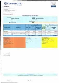 RANARISON Tsilavo ont signé les bons de commande de EMERGENT pour WESTCON Africa Page22 - RANARISON Tsilavo signent les bons de commande des produits CISCO achetés par EMERGENT NETWORK à WESTCON pour CONNECTIC