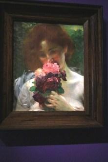 """L'enivrement des Roses"" (1899) - Albert Besnard"