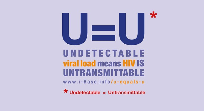 Undectectable = Untransmittable