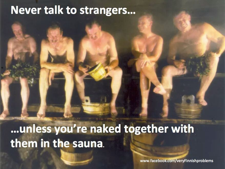 Finnish Sauna Meme Porridge Blog