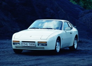 1986 White Porsche 944 Turbo Coupe